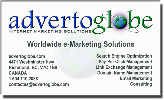 advertoglobe - Internet Marketing Solutions